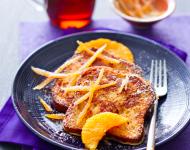 Lire la suite de J – 13 avant Noël : l'idée recette dessert n°2- Pain perdu aux zestes d'orange confits